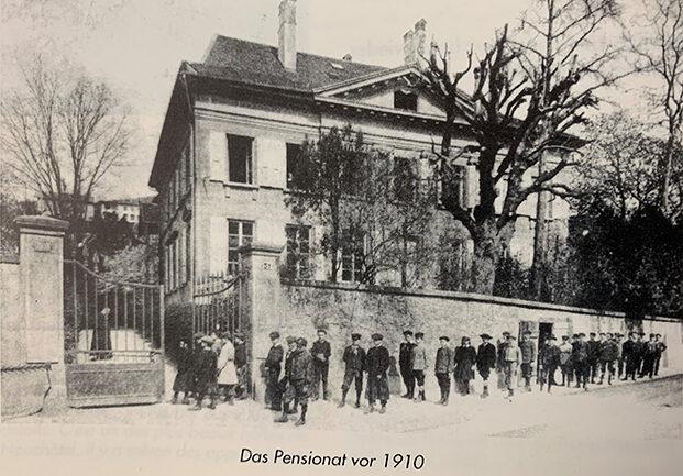 Das Pensionat 1910