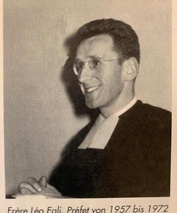 Frère Léo Egli, Préfet von 1957 - 1972